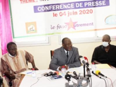 Le Faso Autrement, l'UNDD et le RSR : «La réconciliation comme préalable aux élections»