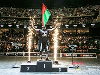 Challenge mondial Log Lift : Iron Biby bat  un nouveau record