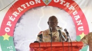 Opération Otapuanu : Mission accomplie, selon le général Miningou