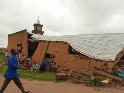 Mosquée détruite à Pazani : La version de l'huissier