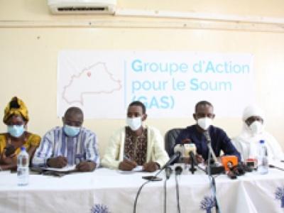 Groupe d'Action pour le Soum : Des filles et fils au chevet de leur province en détresse sécuritaire
