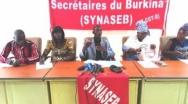 Secrétaires du Burkina : Les dossiers seront en souffrance pendant 96 heures